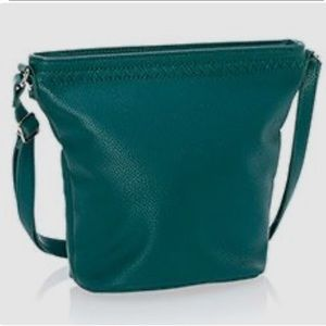 Thirty-One green cafe crossbody